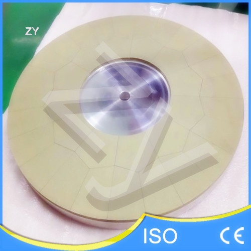 Vitrified bond diamond polishing discs