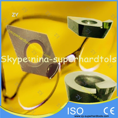 SCD natural diamond tools for ophthalmic lens
