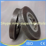 Electroplating grinding wheel
