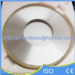 Vitrified bond grinding wheel for pcd tools