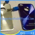 PCD cutters for fine polishing